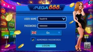 Register mega888 account